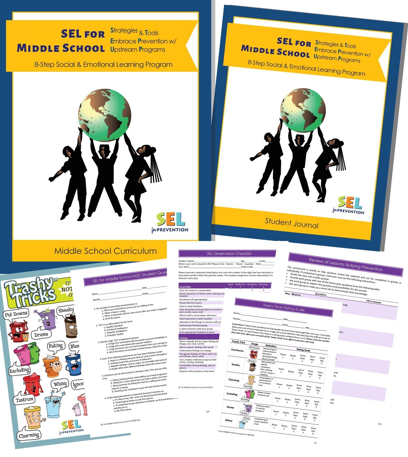 SEL for Prevention Middle School Curriculum - Print Version