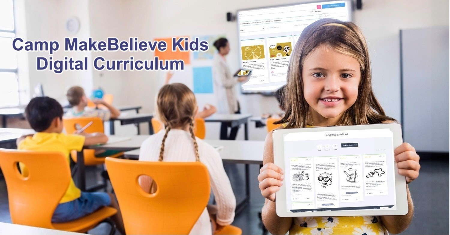 Camp MakeBelieve Kids Adaptable Digital Curriculum