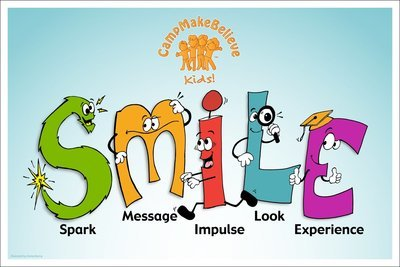 Laminated Classroom 11x17 SMILE Poster
