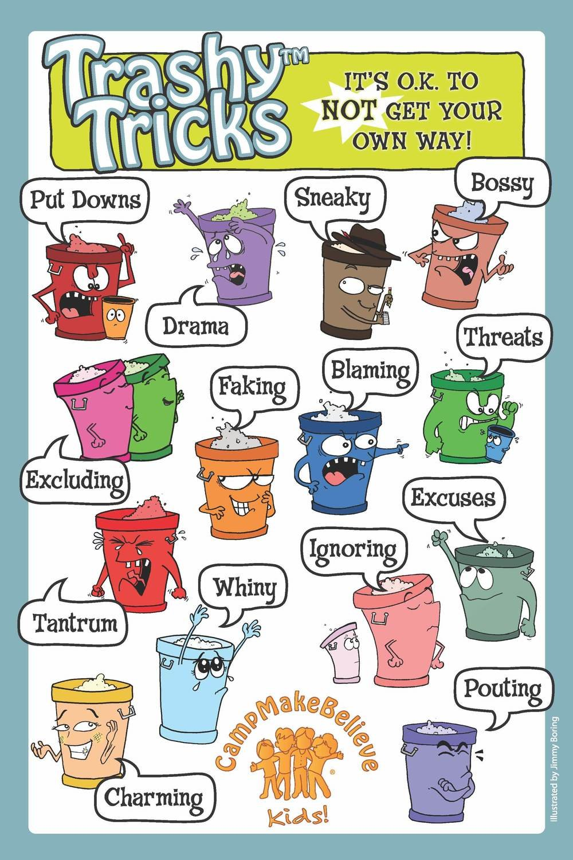 Laminated Classroom 11x17 Trashy Tricks Poster
