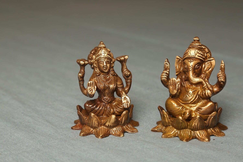 Brass Laxmi Ganpati
