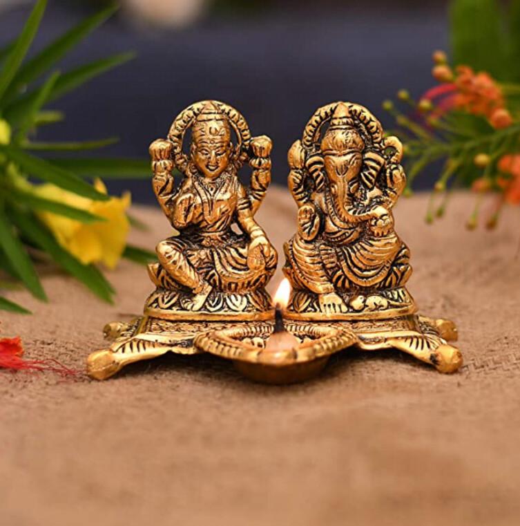 Diya Ganesha Laxmi