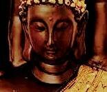 Golden Handcrafted Palm Buddha