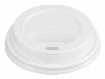 Piplock till pappersbägare 25 cl, vit, 50 st/fp