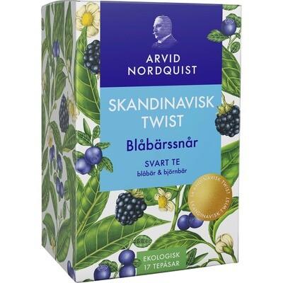 ARVIDNORDQUIST  BLÅBÄRSSNÅR SVART TE, 17p