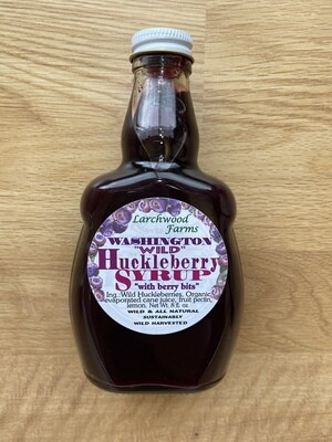 Huckleberry Syrup-Large