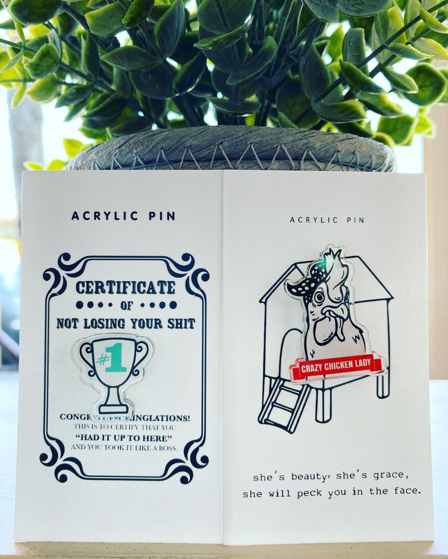 Certificate Pin