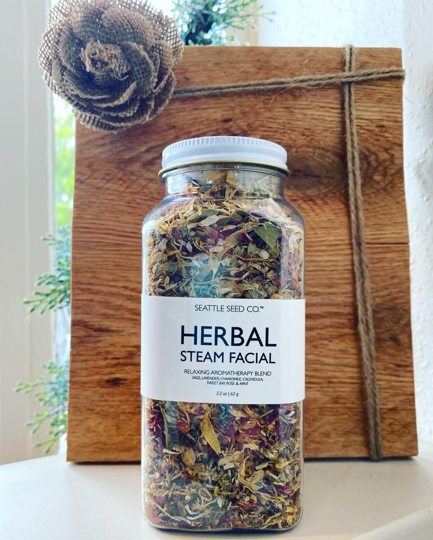 Herbal Steam Facial