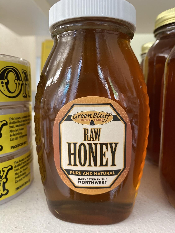 Greenbluff Queenline Honey Jar 16oz