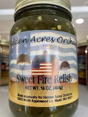 Sweet Fire Relish