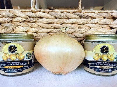 Ajs Walla Walla Sweet Onion Mustard Garlic