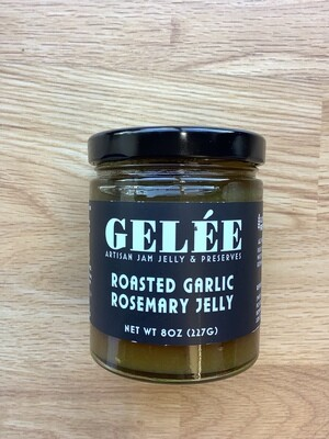 Roasted Garlic and Rosemary Gelee