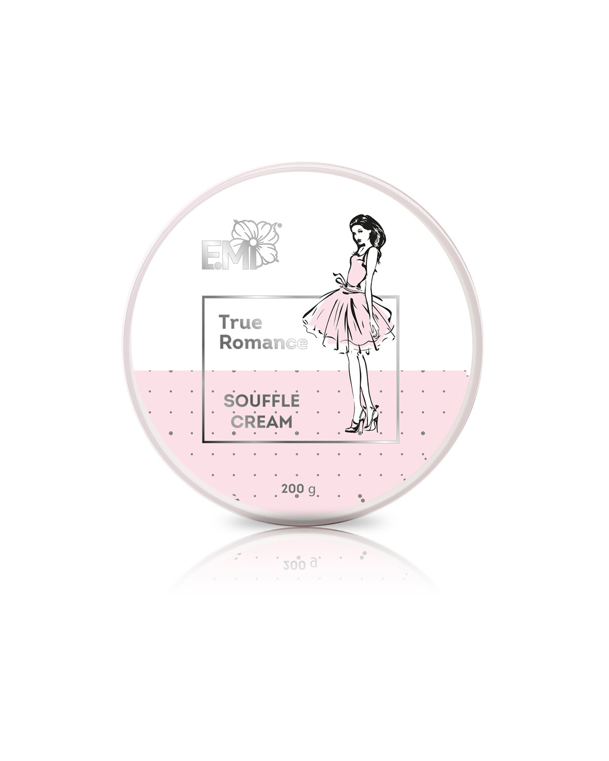 Hand and Body Cream Souffle True Romance, 200 ml.
