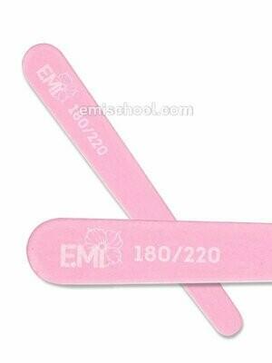 Mini Wood Nail File Pink 180/220