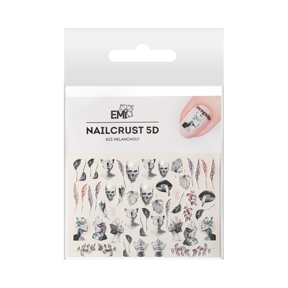 NAILCRUST 5D #23 Melancholy