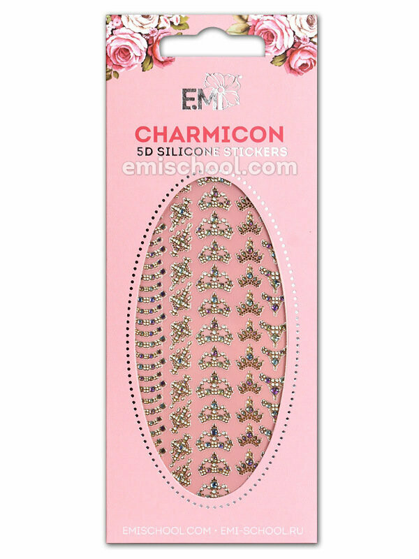 Charmicon 5D Silicone Stickers # 54 Royal