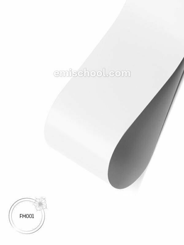 Foil matte White, 1.5 m.