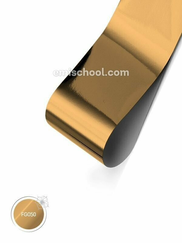 Foil glossy Champagne Gold, 1.5 m.