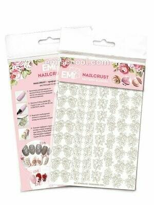 NAILCRUST Pattern Sliders Gold #22