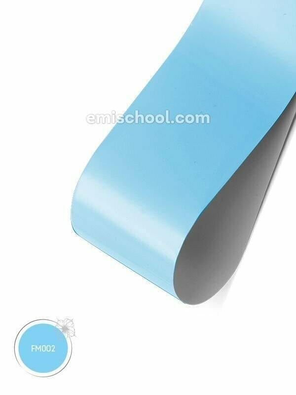 Foil matte Blue, 1.5 m.