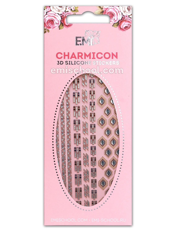 Charmicon 3D Silicone Stickers #77 Chain