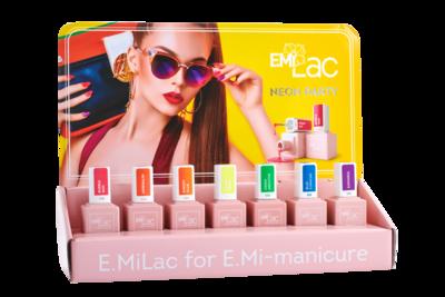 Display E.MiLac Neon Party+Set