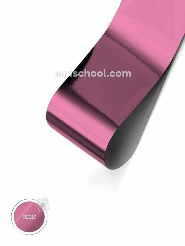 Foil glossy Pink, 1.5 m.