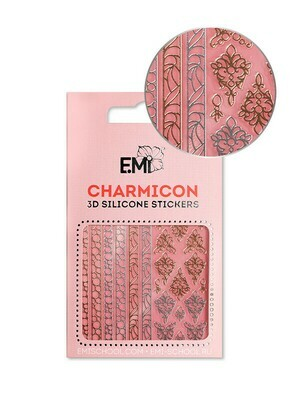 Charmicon 3D Silicone Stickers #153 Jewelry