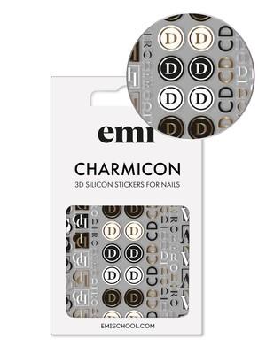 Charmicon 3D Silicone Stickers #186 Logomania
