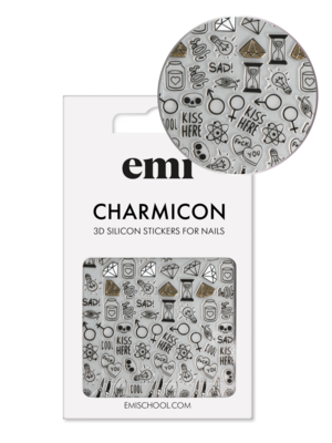 Charmicon 3D Silicone Stickers #189 Оwn Atmosphere