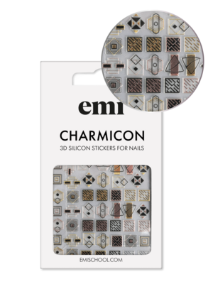 Charmicon 3D Silicone Stickers #193 Elegance