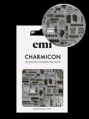 Charmicon 3D Silicone Stickers #196 Joy