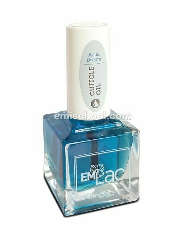 E.MiLac Cuticle Oil Aqua Dream, 15 ml