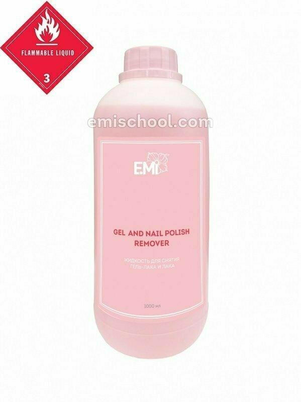 Gel and Nail Polish Remover 1000 ml.