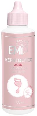 Keratolytic - Zmiękczacz szorstkiej skóry na bazie kwasu cytrynowego, winowego i mlekowego, 100 ml.