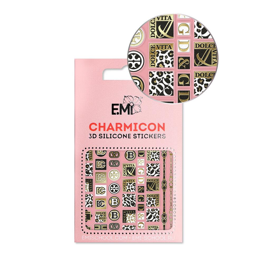 Silikonowe naklejki 3D Charmicon #140 Dolce Vita