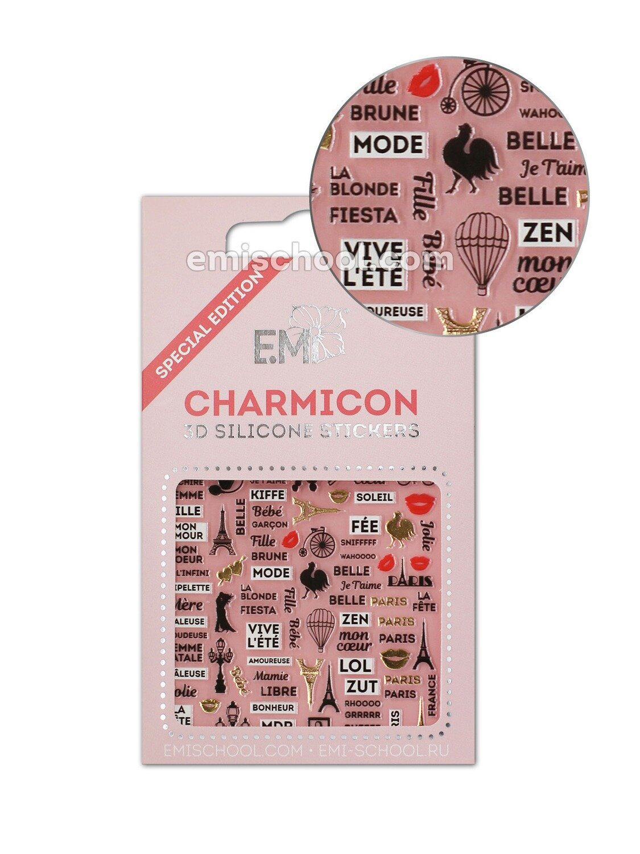 Silikonowe naklejki 3D Charmicon France 2