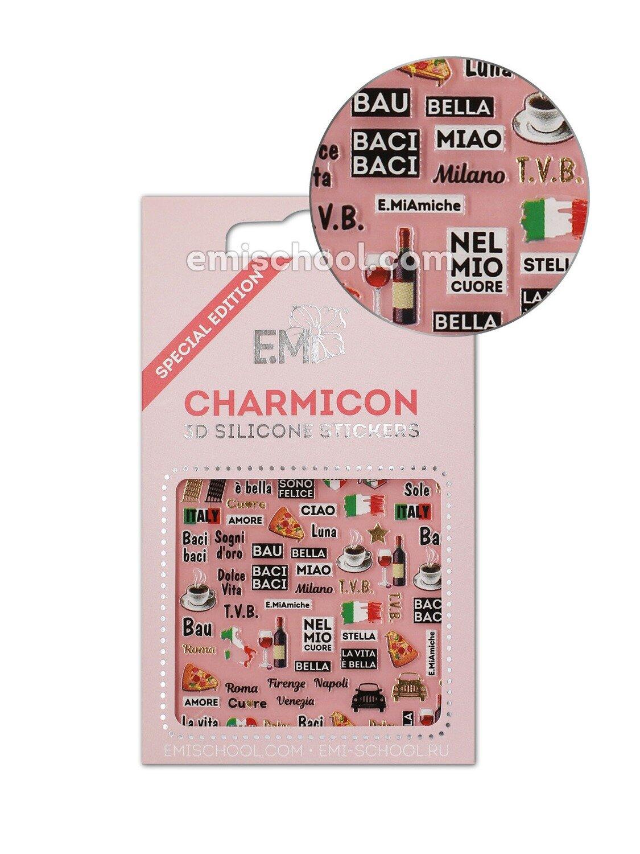Silikonowe naklejki 3D Charmicon Italy 2