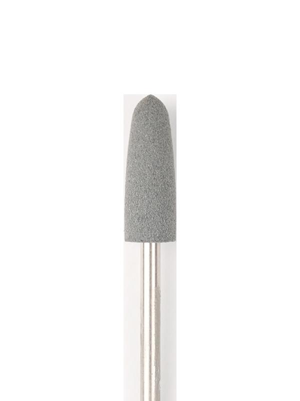 Frez stożkowy silikonowy (pilnik obrotowy), 6 mm, gruba ścieralność