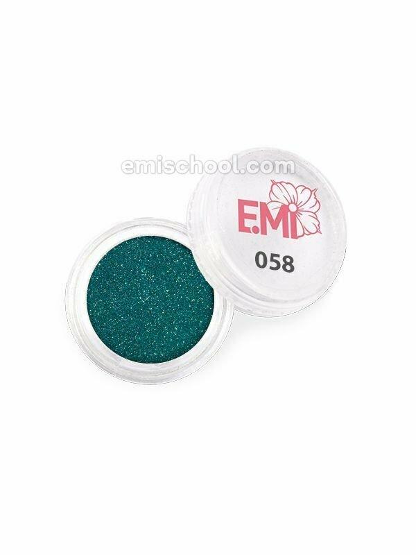 Pyłek jednego koloru metalicznego #058