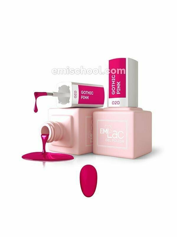 E.MiLac Gothic Pink 9 ml. 020