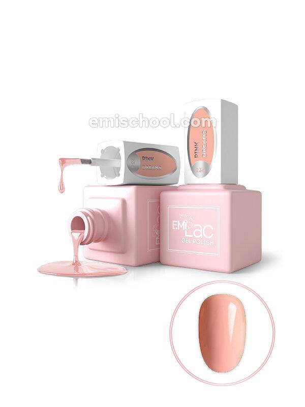 Lakier hybrydowy E.MiLac LM Pink Dreams #236, 9 ml.