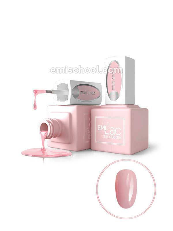 Lakier hybrydowy E.MiLac Pink Style #251, 9 ml
