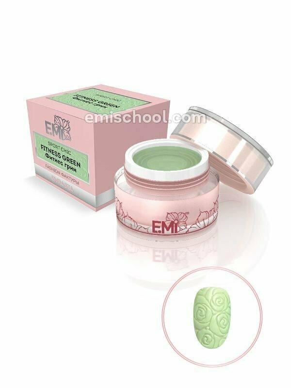 EMPASTA SPORT CHIC Fitness Green 5 ml.