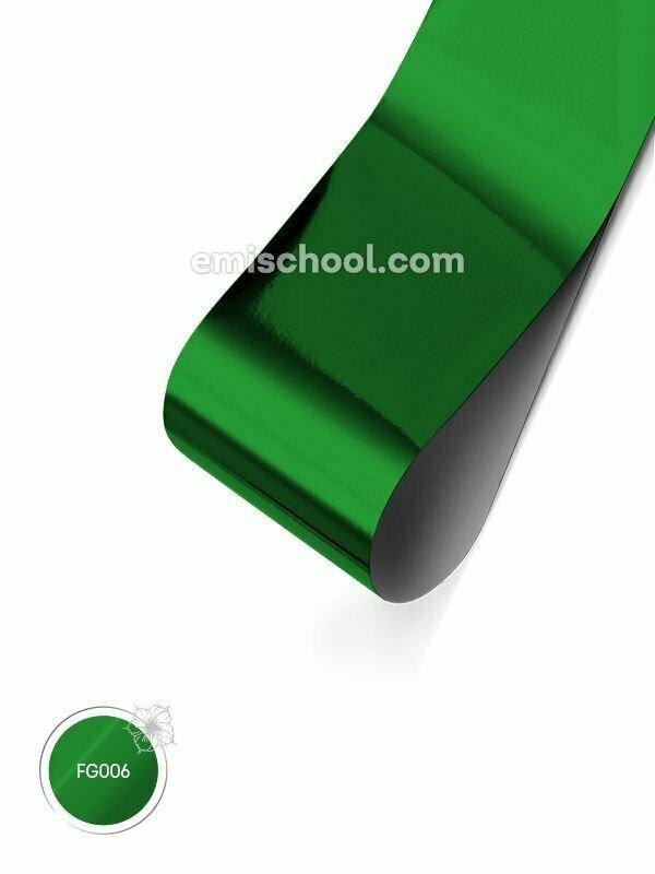 Foil glossy Green