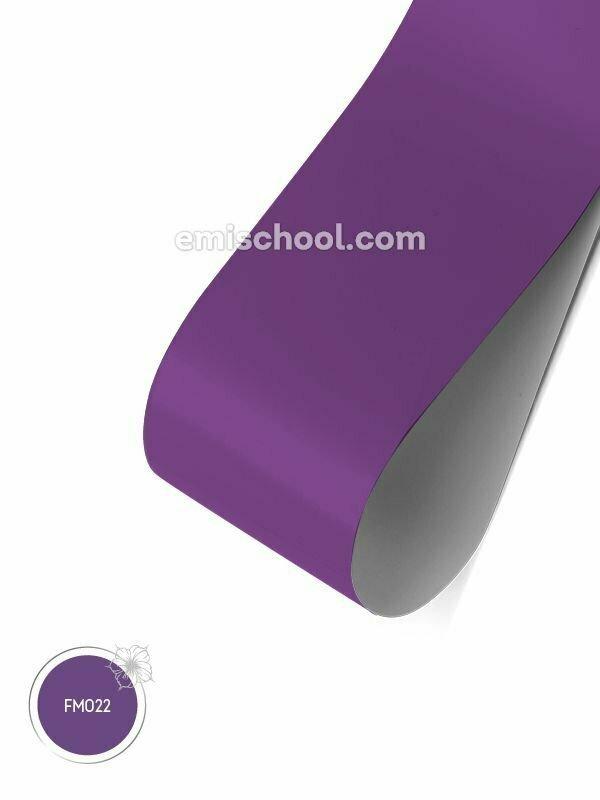Foil matte Purple