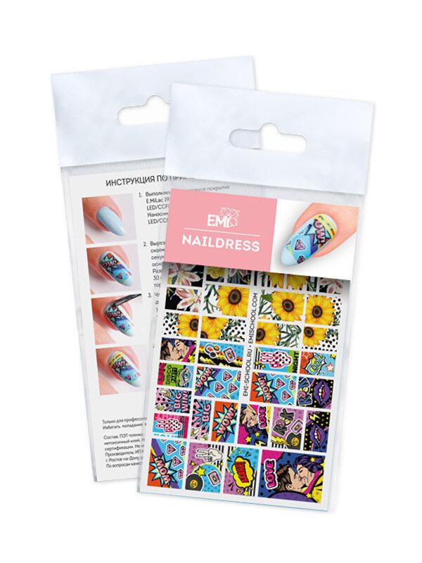 Naklejki wodne Naildress Slider Design #55 Pop Art