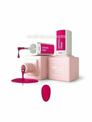 Lakier hybrydowy E.MiLac Gothic Pink #020, 9 ml.