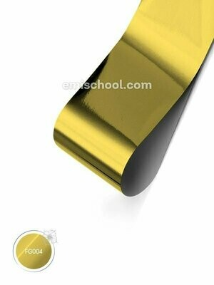 Foil glossy Noble Gold