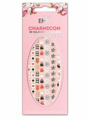 Charmicon 3D Silicone Stickers #57 Icons